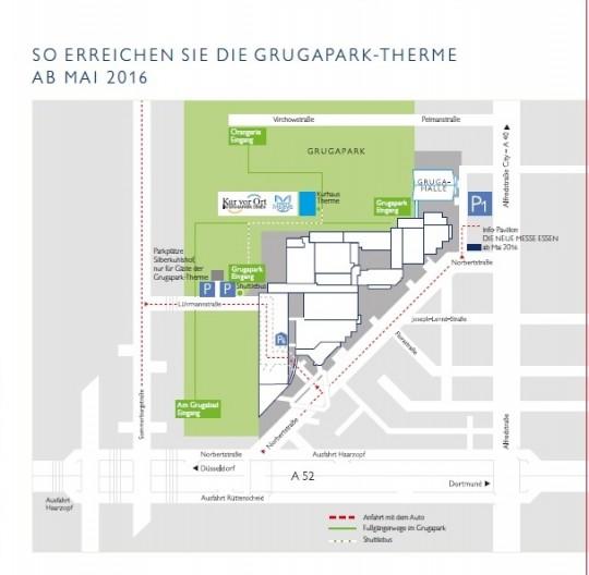 Kostenfreies Parken bei Kur vor Ort & der Grugapark-Therme