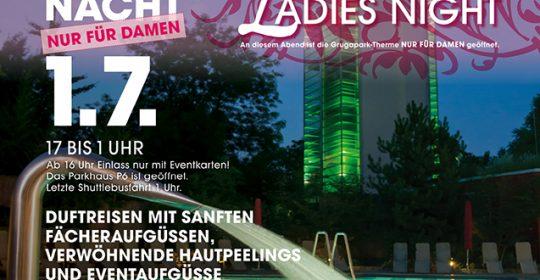 Lange Saunanacht 01. Juli 2017 Ladies Night