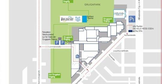 Anfahrtsbeschreibung zur Grugapark-Therme & Kurhaus                                       Für Ihr Navigationsgerät: Adresse Lührmannstrasse 80, 45131 Essen