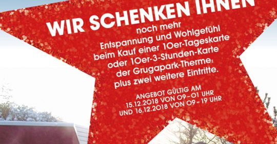 Adventsaktion 10 + 2 am 15.12. & 16.12.2018