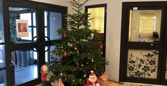 Öffnungszeiten über Weihnachten & Neujahr