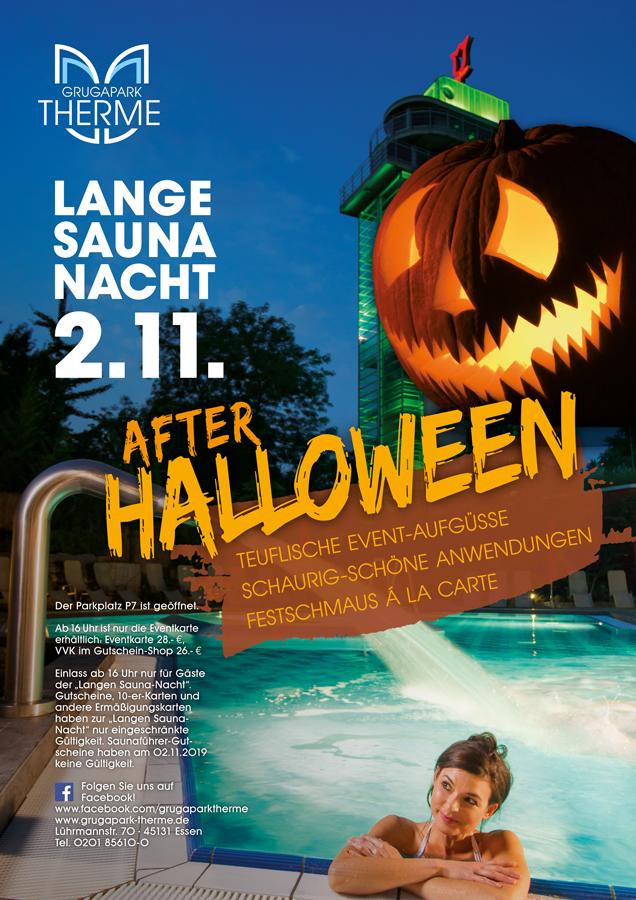 Lange Saunanacht 02. November 2019 After Halloween