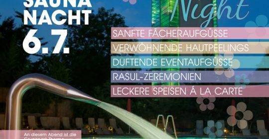 Lange Saunanacht 06. Juli 2019 Ladies Night