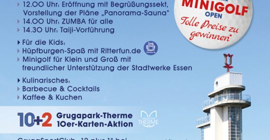 Sommerfest am 08.09.2019 Grugapark-Therme & Kur vor Ort