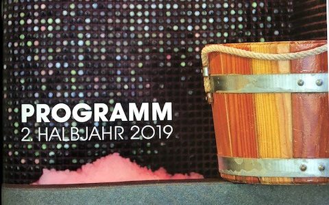 Neues Programmheft II. Halbjahr 2019