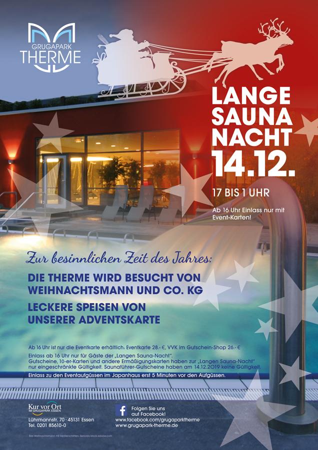 Lange Saunanacht 16. April 2016