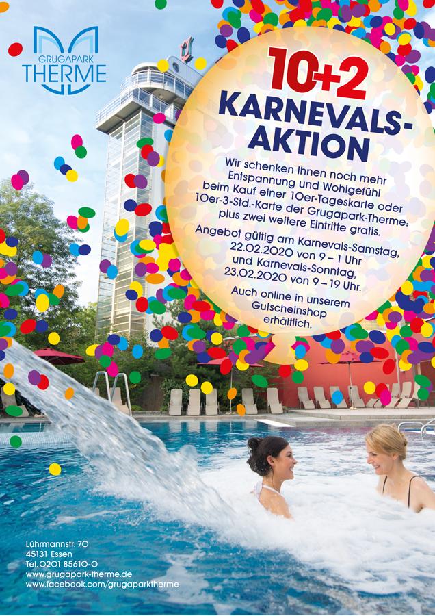 Karnevalsaktion 10 + 2 verlängert bis zum 29.02.2020 !!